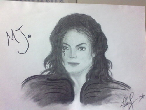Drawing of Michael (Dangerous Era)