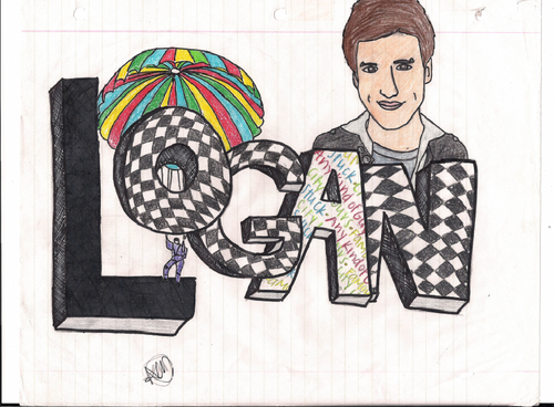 Drawings of Logan Henderson