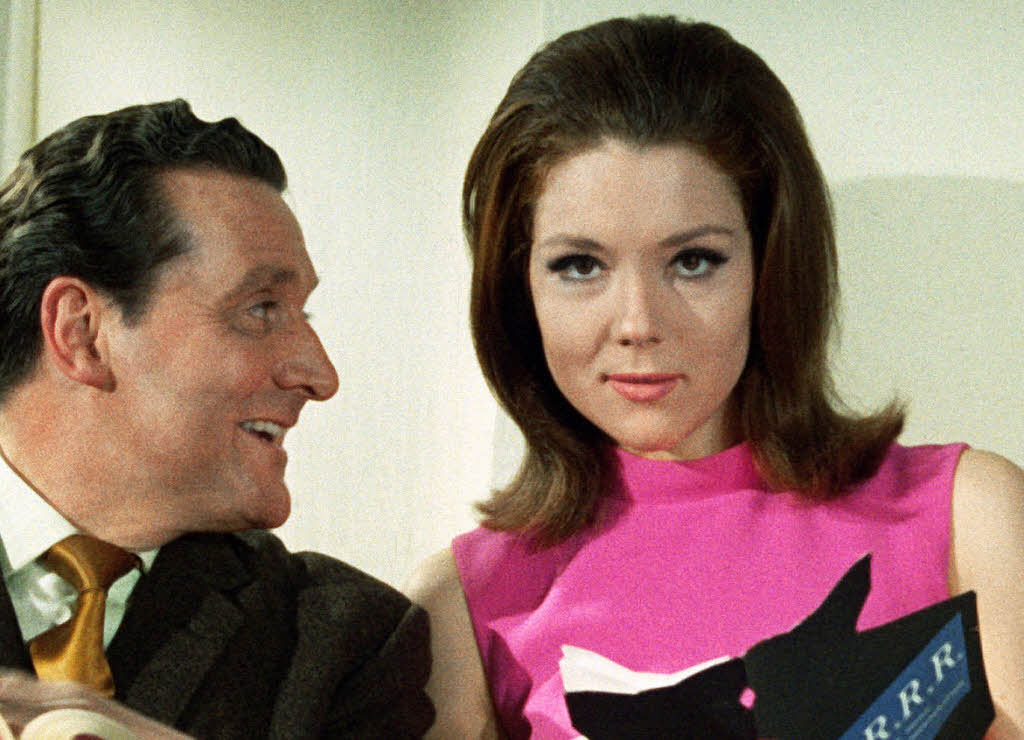 Emma Peel & John coursier, steed