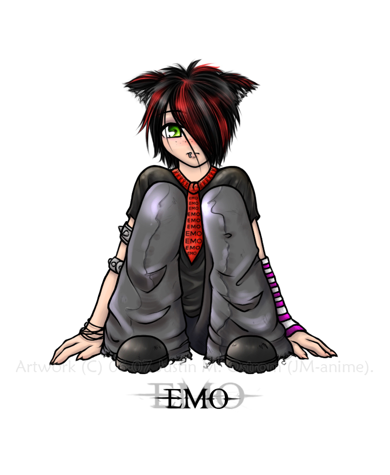 Emo Fashion Gambar Emo Anime Hd Wallpaper And Background Foto 23714786