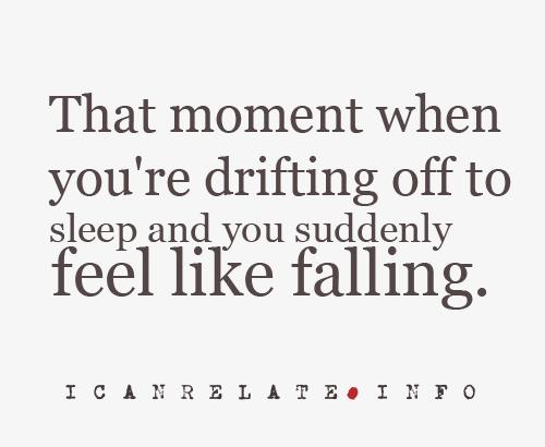 Feeling Like Falling