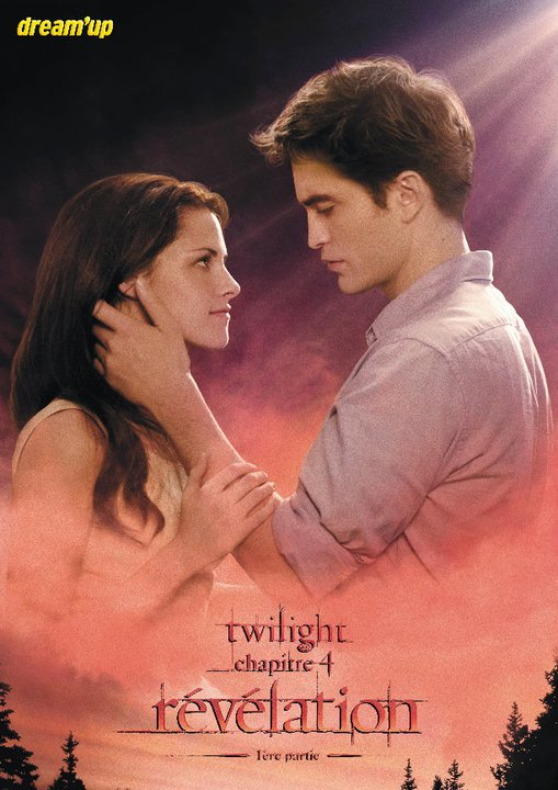 French poster for The Twilight Saga: Breaking Dawn part 1!