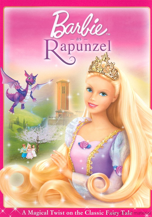 Front and Back of New Rapunzel DVD Cover