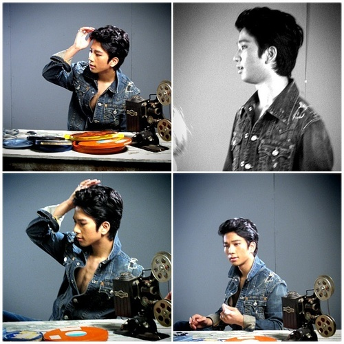 G.O during MBLAQ Mona Lisa album jaket photoshoot!