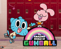 Gumball and Anais - the-amazing-world-of-gumball wallpaper