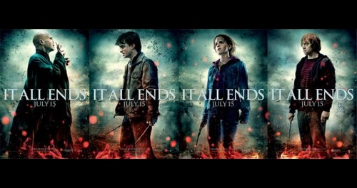 Harry Potter Final Posters