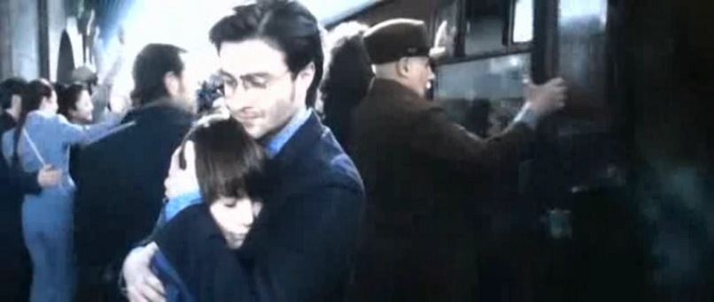 Harry and Albus Severus in Epilogue