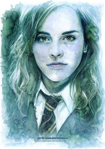 Hermione ファン art