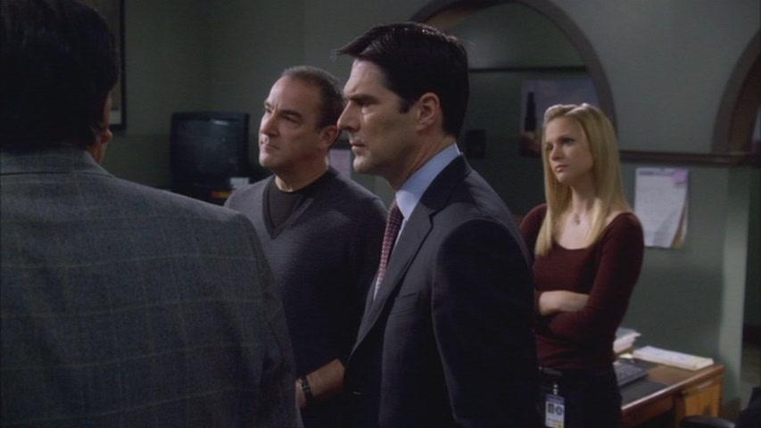 Hotch & JJ // 2x12