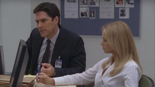 Hotch & JJ // 2x14