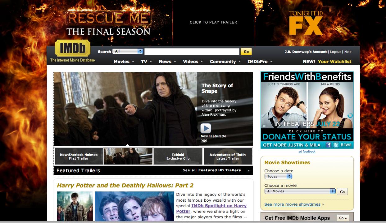 I Love You IMDb!!