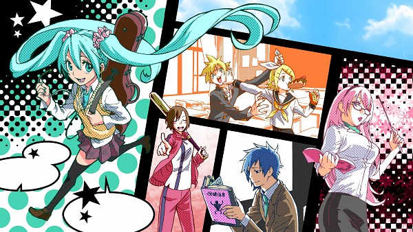 katzneko images if vocaloids are an anime lol wallpaper