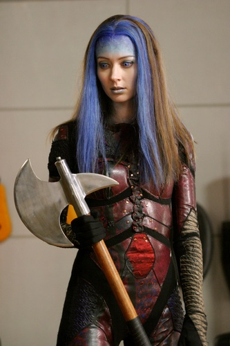 Illyria wallpaper with a hatchet, a tomahawk, and a breastplate titled Illyria