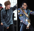 JB like MJ - michael-jackson photo