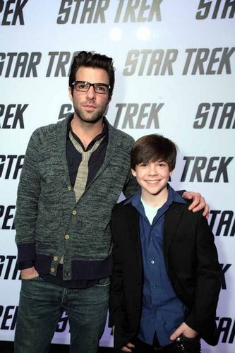 Jacob Kogan and Zachary Quinto