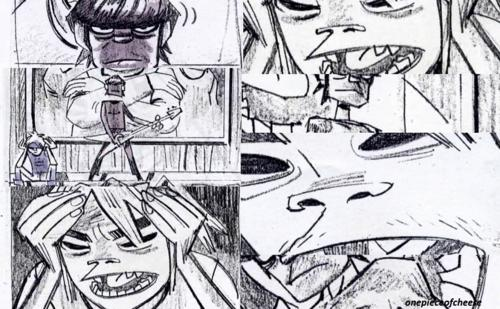Jamies Feel Good Inc sketches