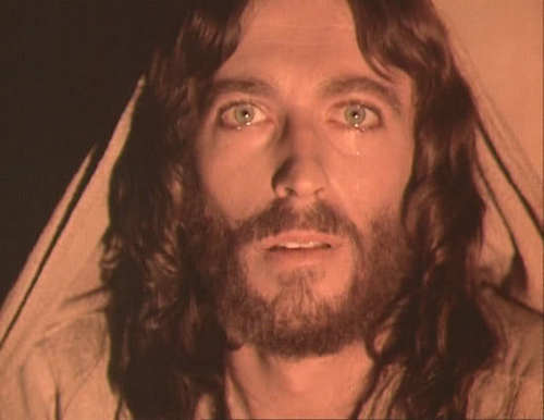 Jesus wallpaper probably with a portrait entitled Jesus Of Nazareth - (Photos from the Movie. Jesus played by Robert Powell.)