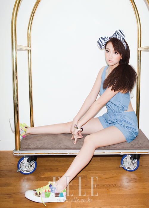 Jiyoung for ELLE