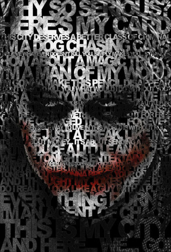 The Joker wallpaper titled Joker Quotes Poster