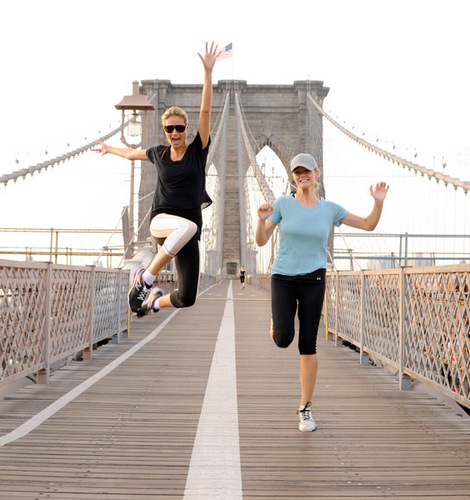 July 12: Running with Brooklyn Decker
