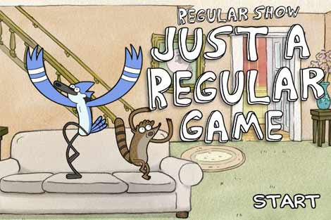 Just a Regular Game - regular-show Screencap