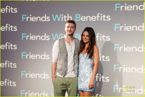 Justin Timberlake: 'Friends with Benefits' in Mexico!