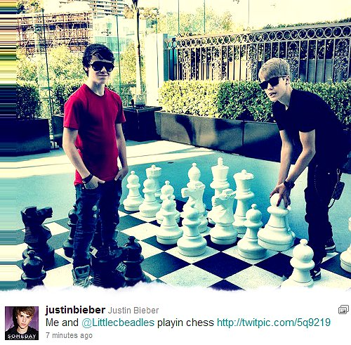 Justin and Christian.