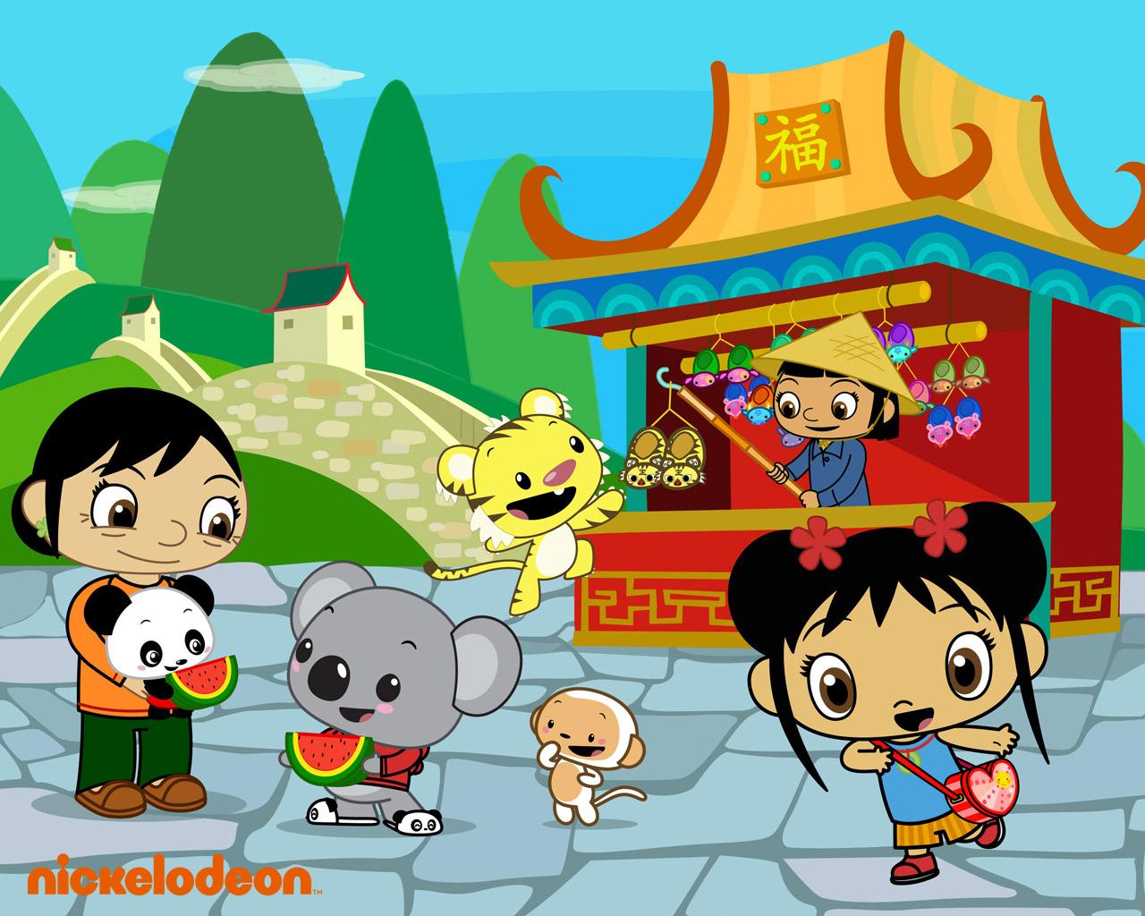 ni-hao, kai-lan images kai-lan and friends in china hd wallpaper and