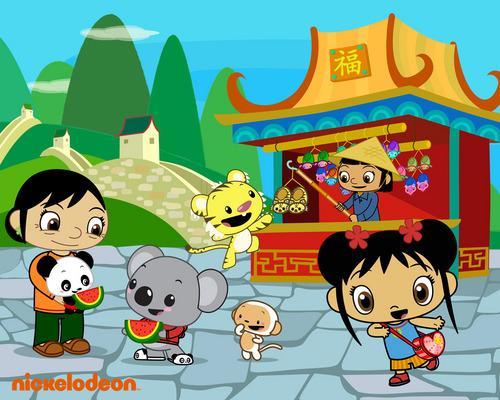 Kai-Lan and دوستوں in China