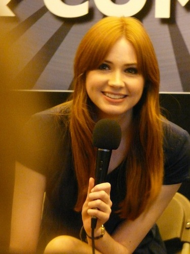 Karen Gillan @ Лондон Film & Comic Con July 9th 2011
