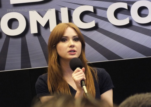 Karen Gillan @ London Film & Comic Con July 9th 2011