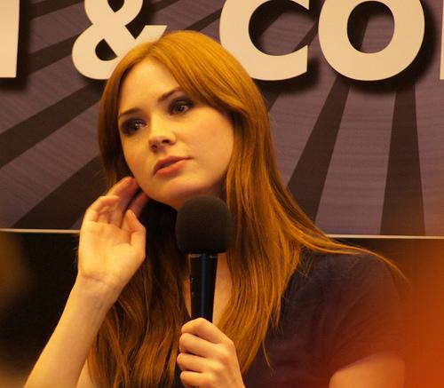 Karen Gillan @ Londra Film & Comic Con July 9th 2011
