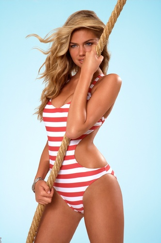 swimsuit si wallpaper possibly containing a bikini called Kate Upton