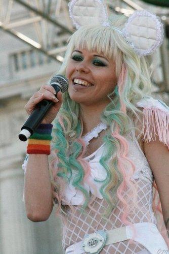Kerli at San Francisco Pride