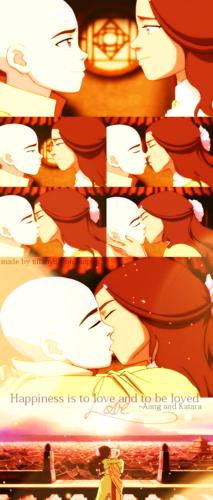 Kiss ~ Aang n Katara