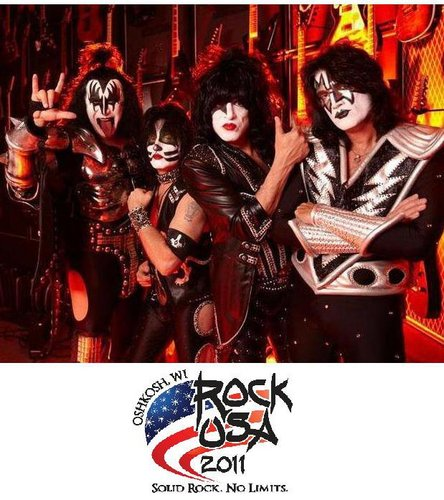 Kiss Rock Fest in Oshkosh