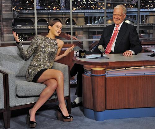 Letterman 显示 2011