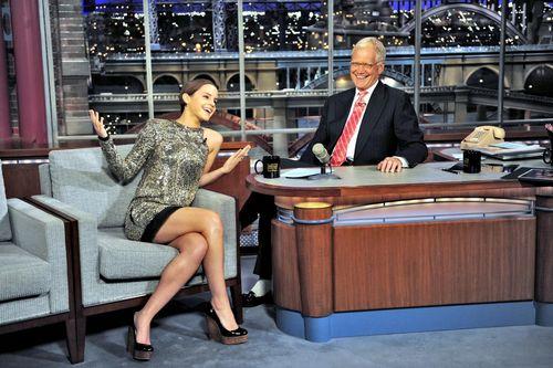 Letterman hiển thị 2011