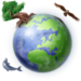 Lovely icon - Earth - space icon