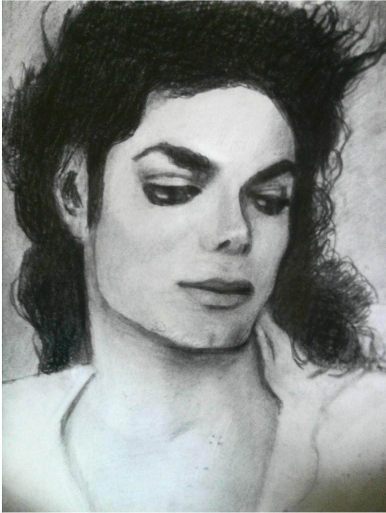 MIS DIBUJOS DE MJ