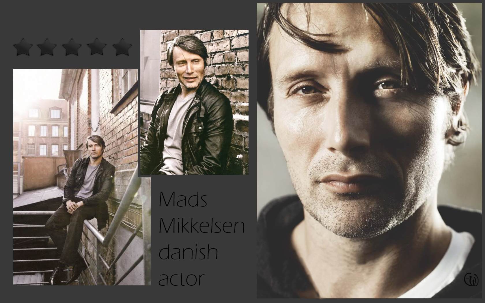 Mads Mikkelsen Wallpaper (23768045)