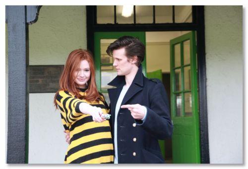 Matt Smith & Karen Gillan