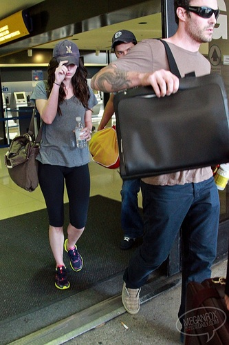 Megan - Arriving into LAX Airport - July 13, 2011