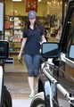 Megan vos, fox does some shopping and leaves with a rather large bag from Planet Beauty.