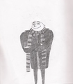 My Sketch of Gru.