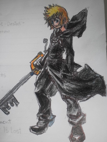 My drawing of Roxas