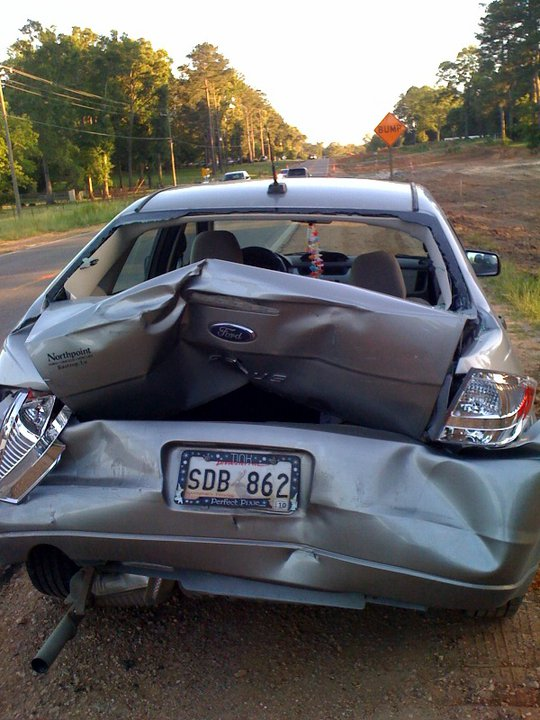 My poor car :(