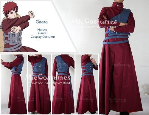 नारूटो Gaara Cosplay Costume