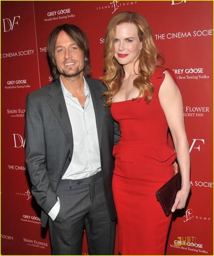 Nicole Kidman & Keith Urban: 'Snow Flower' Screening!