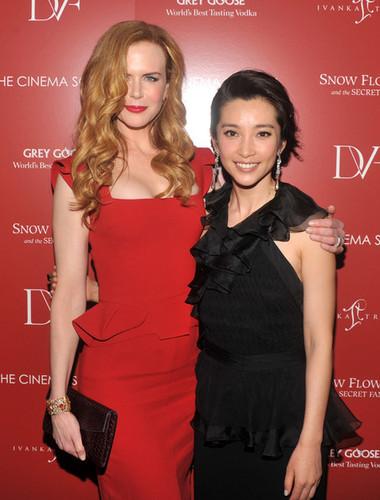 Nicole Kidman & Li Bingbing: 'Snow Flower' Screening